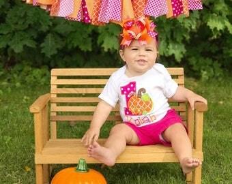 Pumpkin shirt, pumpkin birthday shirt, First Birthday, pumpkin cake smash, pumpkin birthday, pink and orange pumpkin shirt, pumpkin bow