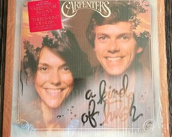 Vintage Carpenters Record - Carpenters A Kind Of Hush LP - Carpenters Record - Carpenters Music - SP-4581 - Carpenter Vinyl LP