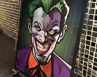 The Joker Acrylic Art Print