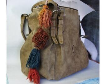 SALE %20 Antique Tassel, Tassel Charm, Vintage Tassel Charm, Tassel Bag Charm, Purse Tassel Charm, Bag Charm, Tassel, Old Tassel, Ethnic