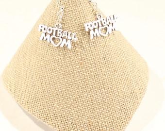 Football Mom Earrings Love Football  Football Game Gift Mom Gift Sports Jewelry