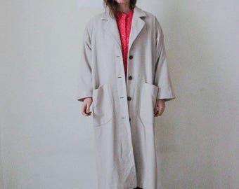 90s oversize coat // KASCHMIR