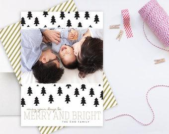 MODERN CHRISTMAS TREES. Christmas Cards. Christmas Card Printable. Christmas Cards Photo. Holiday Cards Custom. Holiday Cards Photo.