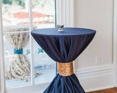 Navy Tablecloths, Nautical, Navy Blue Overlays, 1Day freeship, Preppy wedding, Baby Shower, Bridal Shower, Sweet 16, Derby, Quinceaneras