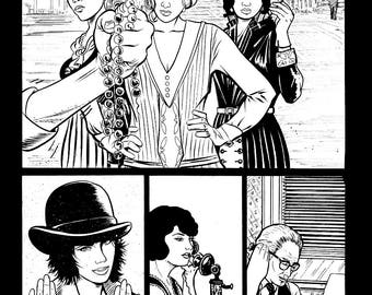 Original Art Page, 73 from The Tommy Gun Dolls Vol. 1 SIGNED