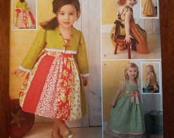 Simplicity 1331: Toddlers' Dresses and Bolero