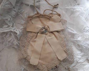 French, Antique, Ombre Silk Roses, 1st Communion , Souvenir , Vintage Weddings, Silk Flowers,  Silk Bags, French Shabby Decor, Silk Purses,