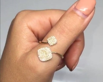 14k Gold Diamond Lady's Ring BXSC36213321