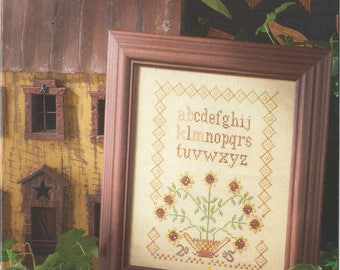 KIT - Sunflower Charms by Blackbird Designs - Loose Feathers Club #15 - OOP Kitted Cross Stitch Pattern