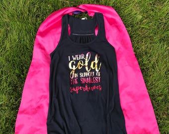 I Wear Gold Tank