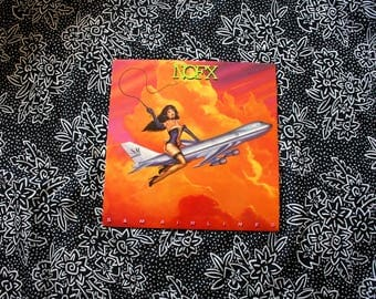 NOFX - S&M Airlines Vintage Vinyl LP Record Album - 90s Punk Rock Epitaph Records Classic 90s Fat Mike Punk Rock NOFX Record