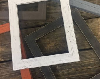 Distressed Picture Frame-Farmhouse Wall Decor-Picture frame set-frame set-Distressed Frame-Distressed Frames-Shabby Chic Frames