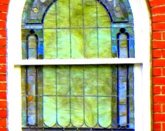 Stained Glass, Fine Art Photography, Color Photography, Landscape Photography