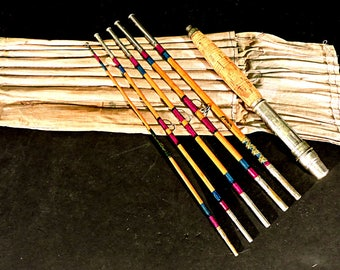 Bamboo Fishing Rod Abbey & Imbrie Duplex Rod Bamboo Pack Rod