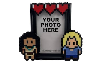 Pocahontas Couples Picture Frame - Pocahontas Wedding Gift - Pocahontas Anniversary Gift - Pocahontas Valentine's Day Gift