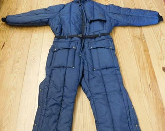 vintage  Walls Polar 10 Snowmobile Suit Mens 2XL with hood