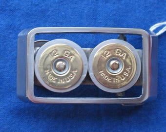 12 Gauge Belt Buckle