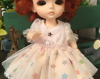 bjd doll short wig for lati yellow pukifee (5 colors)