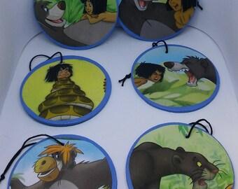 Jungle Book Wooden Ornament Set