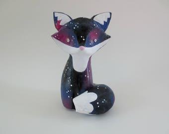 Galaxy Fox Squishy