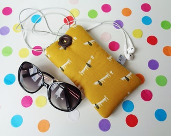Cell Phone Case Cover, Mobile Phone, Smart Phone, Android Phone Sleeve, Padded Phone Pouch, Sun Glasses Case, iPhone, Samsung, Sony, Nokia