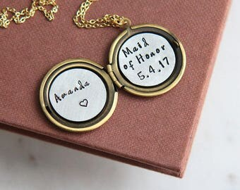 Maid of Honor Gift, Maid of Honor Proposal gift, Bridesmaid Gift, Maid of Honor Necklace, Will You Be My Maid of Honor, Matron of Honor Gift