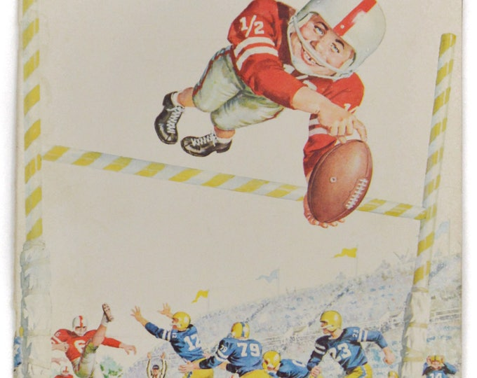 Vintage 60s Mad Magazine No. 117 March '68 Football Alfred E. Newman Humor Parody