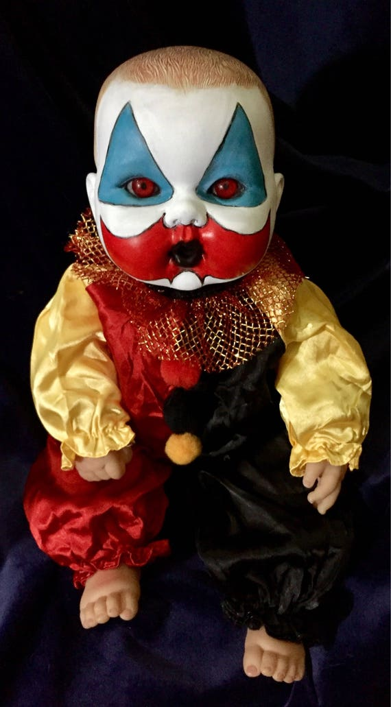 Baby Pogo Original Undead Serial Killer Culture John Wayne Gacy Killer Clown Biohazard Baby