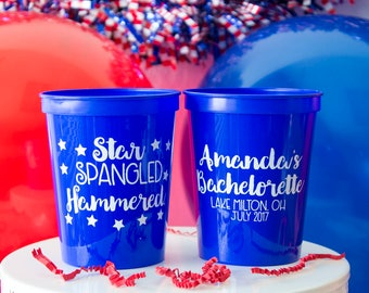 Birthday Party Favors, Birthday Cups, Funny Cups, Plastic Cups, Personalized Cups, Custom Cups, 30 Years Cup, Patriotic Cup, Party Favors