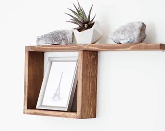 Lina Shelf / Square shelf / Box Shelf / Floating Shelf / Shadow Box