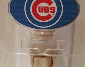 Handmade Sports Nightlights - MLB