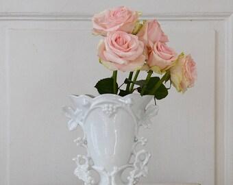 Antique French Wedding Vase / Vase de Mariée