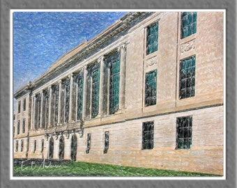 The William Oxley Thompson Library, Ohio State University, Columbus, Ohio