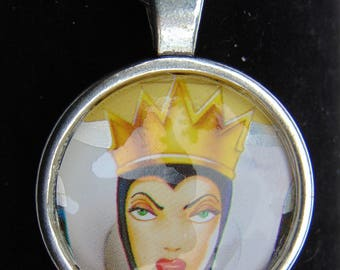Evil Queen Upcycled Necklace