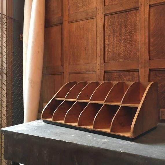 Vintage Hosiery Countertop Display Case, Wood Display, Decorative Storage, Countertop Storage