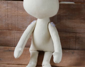Doll, blank, body, textile doll, blanking doll, blank rag doll, ragdoll body, body of the doll, made of cloth, body of a doll, an empty doll