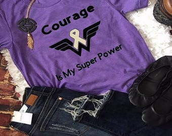 Courage is My Super Power