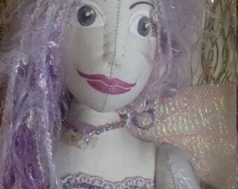 OOAK handmade fairy cloth doll