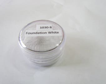 Foundation White 1030-8 -15G -.5oz -Enameling Torching Supplies - Thompson enamel - metalsmithing - fire torching supplies