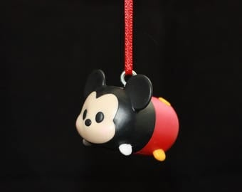 Upcycled Toy Ornament - Mickey Mouse TSUM TSUM