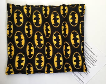 Microwavable Rice Heating Pad- Batman 10x12