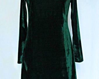 christmas green dress