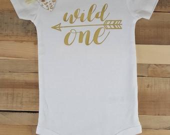 Wild One Birthday, Wild One, Wild One Birthday Outfit, Wild One Birthday Girl, Wild One Onesie, First Birthday Outfit Girl, First Birthday