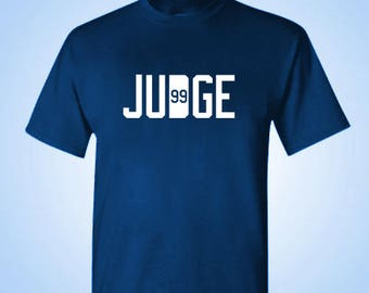 Judge Yankee Shirt - Yankees NY 99 Tshirt Clothing