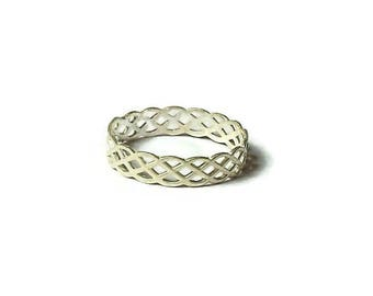 Gifts for sister, Knot Ring, Christmas gift, Infinity ring,Celtic Knot Ring, Gifts for her, Infinity Celtic Knot Ring, Silver knot ring
