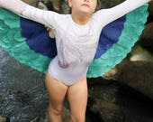 The Bird Wings - Sapphire - Handmade Children's Costume
