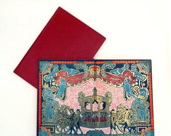 Coronation Book of Queen Elizabeth II, Royal Souvenir Book, Kings and Queens, British Royality History, Oldhams Press London
