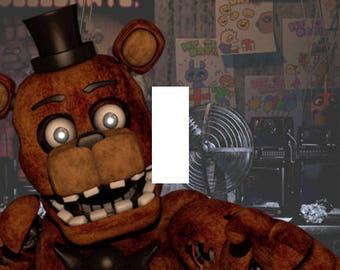 Five Nights at Freddy's Freddy Fazbear Single Light Switch Plate Cover