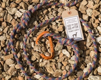 Recycled Climbing Rope Dog Lead