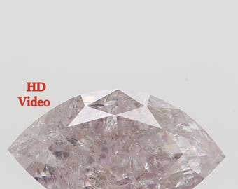 0.46 Ct Natural Loose Diamond Marquise Light Pink Color 6.90X4.00X2.50 MM L7933